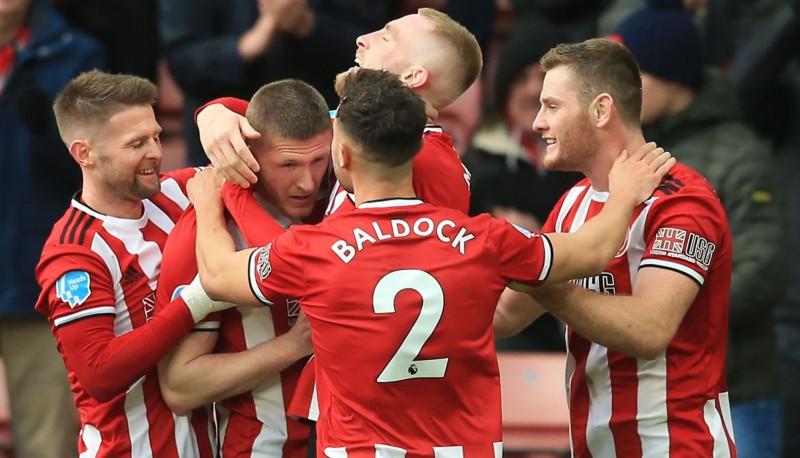 """""""Sheffield United"""" uzvar un paceļas uz piekto vietu Anglijas Premjerlīgā"""