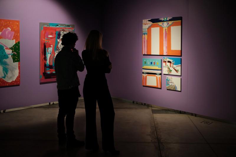 """""""Rīgas mākslas telpā"""" atkal skatāma Kristīnes Kutepovas personālizstāde """"Redzējumi"""""""