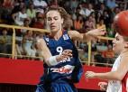 Francijas basketbolistes tiek galā ar sīksto Itālijas izlasi
