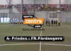 Video: Sportacentrs.com kauss: Pārdaugava- A Priedes