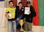 Rīgas kausā galda hokejā galvenā trofeja aizceļo uz Krieviju