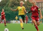 Latvijas U17 izlasei neizšķirts pret Krieviju, dāmas zaudē Lietuvai