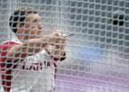 Latvijas vieglatēti startē mešanas sacensībās Igaunijā, Sokolovs labo veterānu rekordu