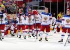 Krievijas hokeja vadībai piespriests naudas sods par priekšlaicīgu laukuma pamešanu