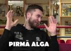 """Video: Pirmā alga: Peiners atceras savu tiesneša """"karjeru"""""""