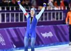 Lorencens ar jaunu olimpisko rekordu ātrākais 500 metros