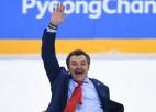 """Tarasova par situāciju pēc olimpiskā zelta: """"Mēs ar Znaroku raudājām divatā"""""""