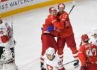 Krievija ar uzvaru pār Šveici atgriežas uz uzvaru takas
