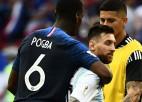 """Pogbā: """"Neatkarīgi no šīs spēles rezultāta, Mesi ir labākais futbolists pasaulē"""""""