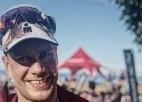 """Pirmais """"Ironman"""" mūžā: Māris Plūme 40. dzimšanas dienā veiksmīgi finišē Durbanā"""
