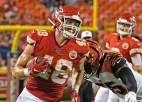 """Latviešu izcelsmes NFL spēlētājs Kaizers atgriežas """"Chiefs"""" rindās"""