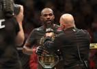 Džounss UFC titulu aizstāvēs pret līdz šim neuzvarēto Reijesu