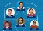 Znaroks iekļūst Latvijas visu laiku izlasē IIHF versijā