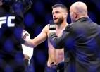 Keiters aptur Iges sešu uzvaru sēriju, lietuvietis Bukausks ar uzvaru debitē UFC