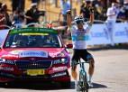 """Kazahstānas čempions Lucenko neapturams """"Tour de France"""" atrāvienā, Skujiņš 89. vietā"""