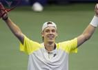 """Čoričs un Šapovalovs pirmoreiz spēlēs """"Grand Slam"""" ceturtdaļfinālā"""