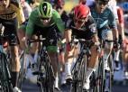 """Kritienu """"Tour de France"""" piedzīvo arī Neilands, Sagans tiek sodīts par grūstīšanos"""