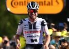 """Šveicei pirmā """"Tour de France"""" posma uzvara astoņos gados, latvieši otrajā simtā"""
