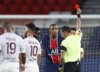 Kurzavā sešu spēļu sods, Neimāram – divu, PSG ar deviņiem futbolistiem izrauj uzvaru