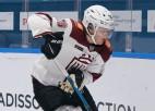 """Dinamo"""" aizsargs Sunds dienu pēc KHL sezonas beigām pievienosies Šveices klubam"""