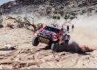 El-Atija negodīgo noteikumu dēļ draud vairs nestartēt Dakaras rallijā