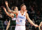 Freimanis panāk izšķirošo spēli Igaunijā; Butjankovam 15 punkti zaudējumā finālsērijas ievadā