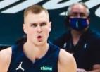 Video: Dončiča un Porziņģa sadarbība NBA momentos otrajā vietā
