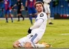 """Bemfordam 12. vārti Premjerlīgas sezonā, Līdsas """"United"""" apsteidz """"Arsenal"""""""
