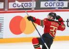 """Pret Rīgas """"Dinamo"""" 2+1 guvušais Kostins tiek atzīts par KHL nedēļas labāko uzbrucēju"""