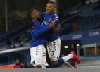 """""""Everton"""" deviņu vārtu drāmā papildlaikā izslēdz Totenhemu no Anglijas FA kausa"""