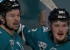 """Video: Balceram lielisks pirmais punkts Sanhosē """"Sharks"""" rindās"""