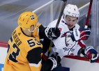 """Bļugers turpina spēlēt rezultatīvi un gūst uzvaras vārtus pret """"Islanders"""""""