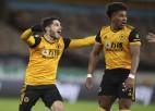 """""""Wolves"""" turpina uzvaru sēriju pret Līdsas """"United"""", pietuvojoties Premjerlīgas """"top 10"""""""