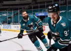 Video: Merzļikins un Balcers parādās NHL jocīgākajos momentos