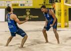 Čehijas pludmales volejbolisti Perušičs un Šveiners Dohā izcīna pirmo lielo titulu