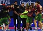Portugāle neticamā spēles galotnē izrauj uzvaru un vēsturisku vietu Olimpiādē