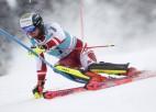 Simtdaļu cīņās Fellers noslēdz sezonu ar otro uzvaru slalomā