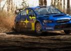 """Pastrana ar """"Subaru"""" uzveic Bloku Amerikas rallijā"""