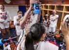 """Četri latvieši """"Sweet 16"""": Motes komandai lielākais panākums kopš 1998. gada"""