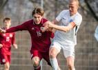"""Latvijas U19 izlase pieveic """"Daugavpili"""", U21 izlase zaudē RFS"""