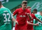 """""""Leipzig"""" pietuvojas """"Bayern"""", Dortmunde izglābjas"""