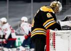 """""""Capitals"""" ieber astoņas ripas Bostonas vārtos, Ņujorkas duelī nepieciešams pagarinājums"""