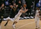 Video: Dončičs ar iespaidīgu uzvaras grozu triumfē NBA dienas momentos