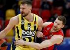 Strēlniekam astoņi punkti CSKA otrājā uzvarā; ''Barcelona'' pagarinājumā izglābjas pret ''Zenit''