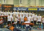 Krastiņa trenētā komanda trešo reizi kļūst par Ukrainas čempioni volejbolā