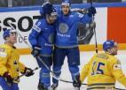 Latvijas pretiniecei PČ Rīgā Kazahstānai nepalīdzēs viens no līderiem Douss