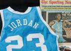 Džordana NCAA spēles krekls pārdots par 1.15 miljoniem