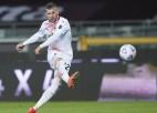 ''Juventus'' pieveic ''Sassuolo'' un turpina cīņu par ČL; ''Milan'' iesit septiņus pret ''Torino''