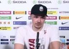 """Video: Cibuļskis: """"Kājas pēc pirmās spēles bija nogurušas, taču tas nav attaisnojums"""""""