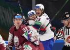 Video: Latvijas hokejisti pasaules čempionātā Rīgā piedzīvo sāpīgu zaudējumu